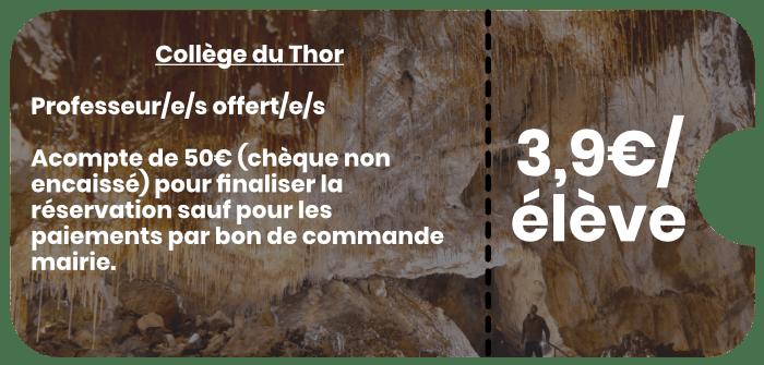 Collège du Thor Grottes de Thouzon